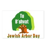 Jewish Arbor Day Postcards (Package of 8)