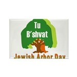 Jewish Arbor Day Rectangle Magnet (100 pack)