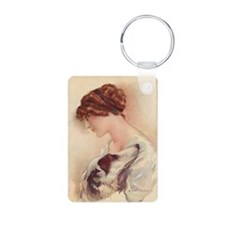 Borzoi Love Key Chain