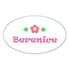 """Pink Daisy - """"Berenice"""" Oval Decal"""