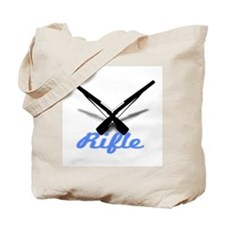 Light Blue Rifles Tote Bag