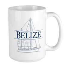 Belize sailboat - Mug