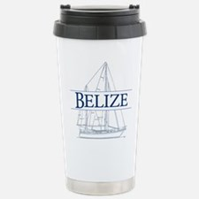 Belize sailboat - Travel Mug
