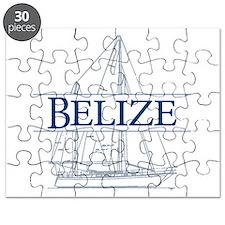 Belize sailboat - Puzzle