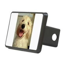 Happy Goldendoodle Hitch Cover
