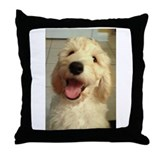 Goldendoodle Throw Pillows
