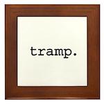 tramp. Framed Tile