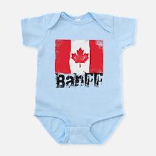 Banff Grunge Flag Infant Bodysuit