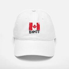 Banff Grunge Flag Baseball Baseball Cap