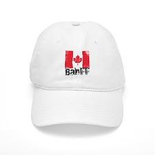 Banff Grunge Flag Baseball Cap