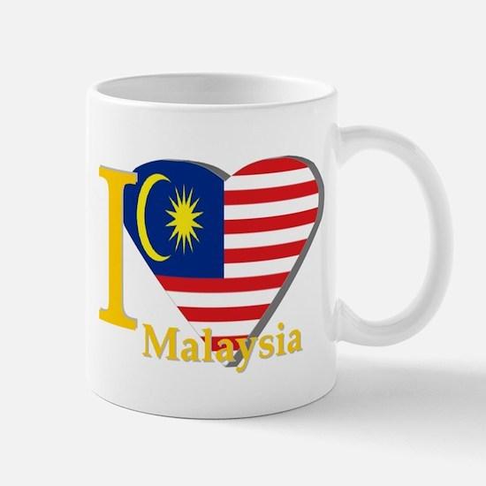 I love Malaysia flag Mug