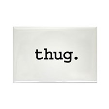 thug. Rectangle Magnet (10 pack)