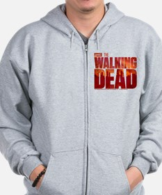 The Walking Dead Blood Logo Zip Hoodie