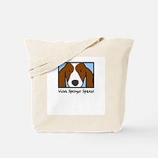 Anime Welsh Springer Spaniel Tote Bag