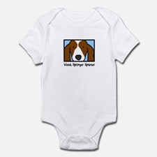 Anime Welsh Springer Spaniel Baby Bodysuit