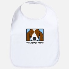 Anime Welsh Springer Spaniel Bib
