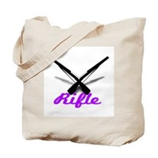 Purple Rifles Tote Bag