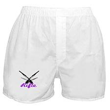 Purple Rifles Boxer Shorts