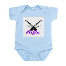 Purple Rifles Infant Bodysuit