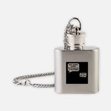 Shakespeare in the Dark Flask Necklace