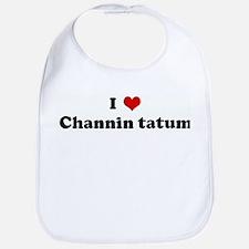I Love Channin tatum Bib