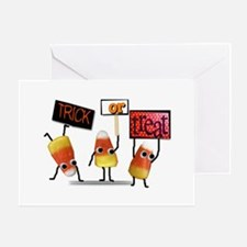 Cute candy corns Greeting Cards