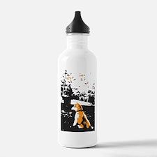 Autumn Shiba Water Bottle