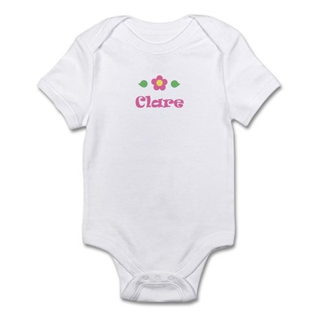"Pink Daisy - ""Clare"" Infant Bodysuit"