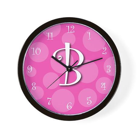 """initial """"b"""" Wall Clock"""