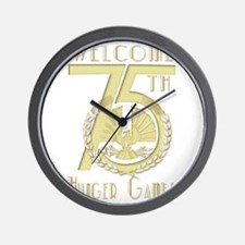 Welcome  75th Hunger Games Wall Clock