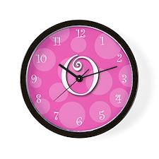 """initial wall clock """"o"""""""