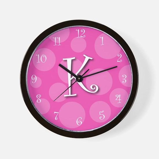 """initial """"k"""" Wall Clock"""