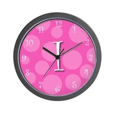 "initial ""i"" Wall Clock"