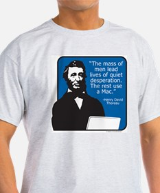 Thoreau Mac Ash Grey T-Shirt