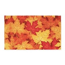 Autumn Leaves 3'x5' Area Rug
