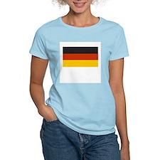 German flag shirt Women's Pink T-Shirt
