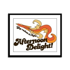 Afternoon Delight Framed Panel Print