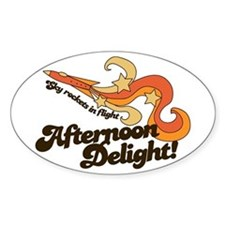 Afternoon Delight Oval Decal