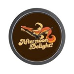 Afternoon Delight Wall Clock