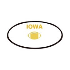 Hawkeye Football Patches