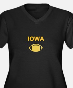 Hawkeye Football Plus Size T-Shirt