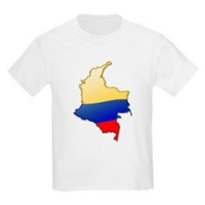 """""""Colombia Bubble Map"""" T-Shirt"""