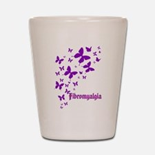 Fibromyalgia Shot Glass