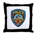 Florence PD Canine Throw Pillow