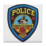 Florence PD Canine Tile Coaster