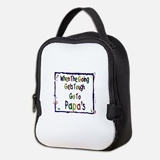 Go To Papas Neoprene Lunch Bag