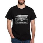 Hugh Ferriss Worldport Motif Dark T-Shirt