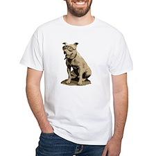 Vintage Pit Bull White T-Shirt
