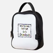 Go To Grandpa's Neoprene Lunch Bag