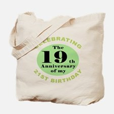 Funny 40th Birthday Tote Bag
